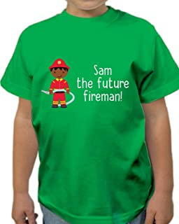 0261f353 Personalised Superhero Sidekick Kids T Shirt Boys T-Shirt Style 3 ...