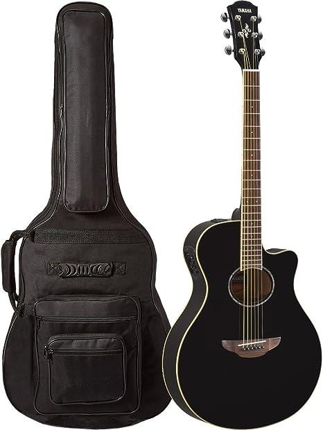 Yamaha APX600 BL - Guitarra acústica (acolchada, 6 bolsillos ...