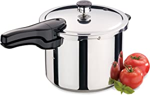 Presto 6 Quart Stainless (Silver) Pressure COOKERS, S/S