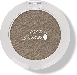 product image for 100% PURE Pressed Powder Eye Shadow (Fruit Pigmented), Bronze Gold, Shimmer Eyeshadow, Buildable Pigment, Easy to Apply, Natural Makeup (Metallic Bronze w/Golden Sheen) - 0.07 oz