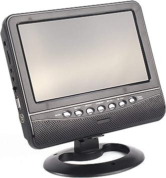 7 Pulgadas TFT Pantalla LCD TV analógica FM TXT Reader MP3 USB Support Ranura para Tarjeta MMC Auto Car Reader Digital Mobile TV JBP-X: Amazon.es: Electrónica