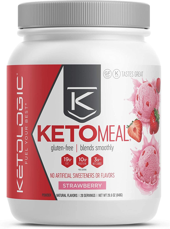 KetoLogic Keto Meal Replacement Shake Powder