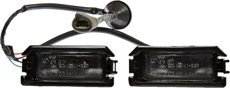 1993 International 4000 SERIES Post mount spotlight -Black 100W Halogen Driver side WITH install kit Larson Electronics 1015P9IX6Y4 6 inch