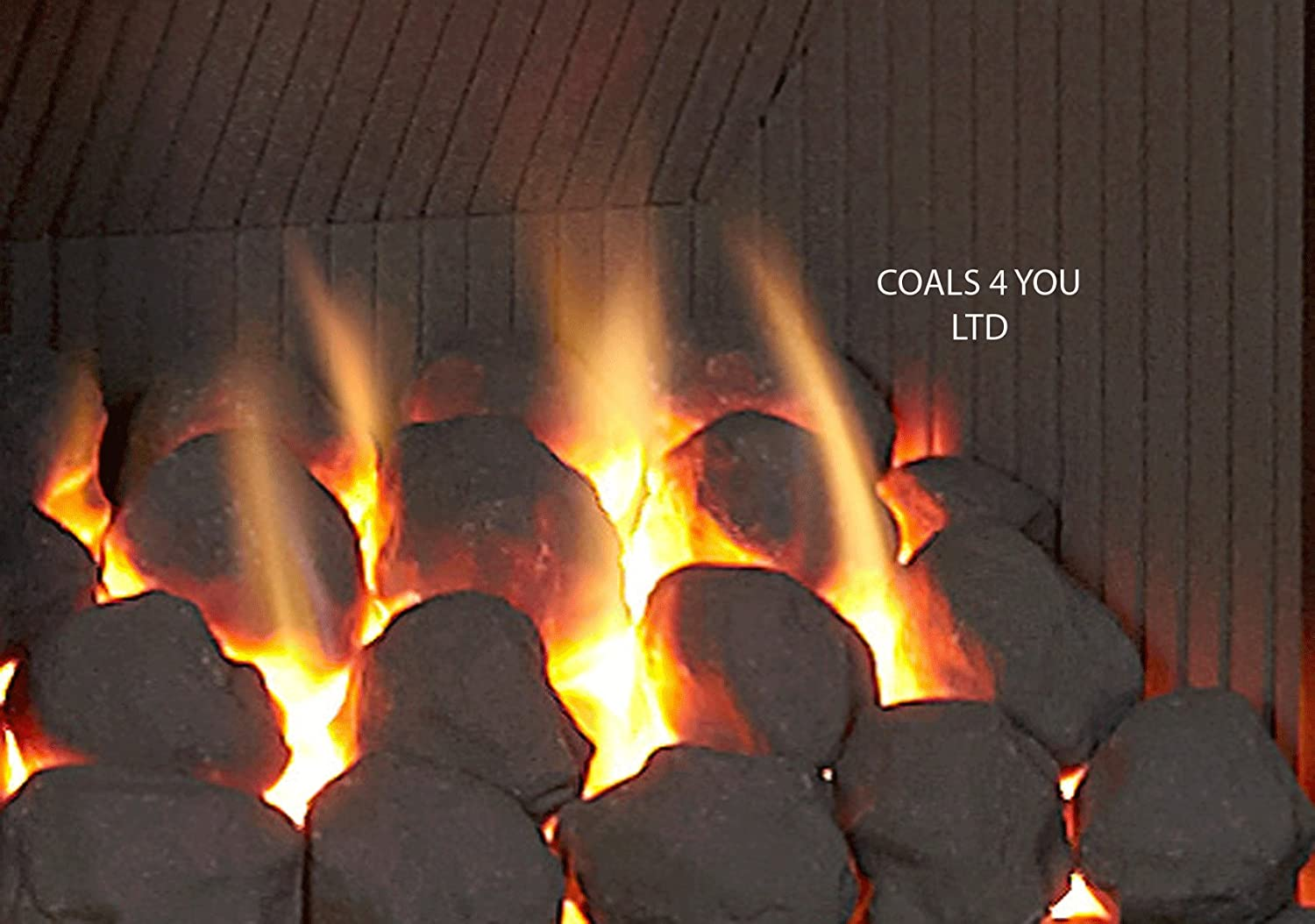 COALS 4 YOU 30 Gas Fire Ceramic Large Cast Coals Replacement Replacements/Bio Fuels/Ceramic/Boxed IN PACKING