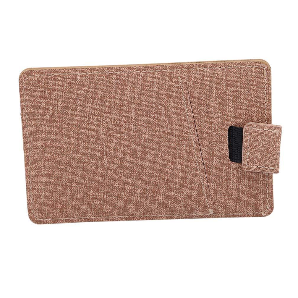 Guoshang Card Wallet for Men Slim Wallet Men Wallet Reversible for Credit Card Cash Valentines Day Present