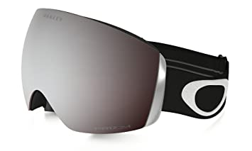 Oakley Flight Deck Masque de Ski Mixte Adulte, Matte Black Prizm Black  Iridium 8b12a8ad4ea3