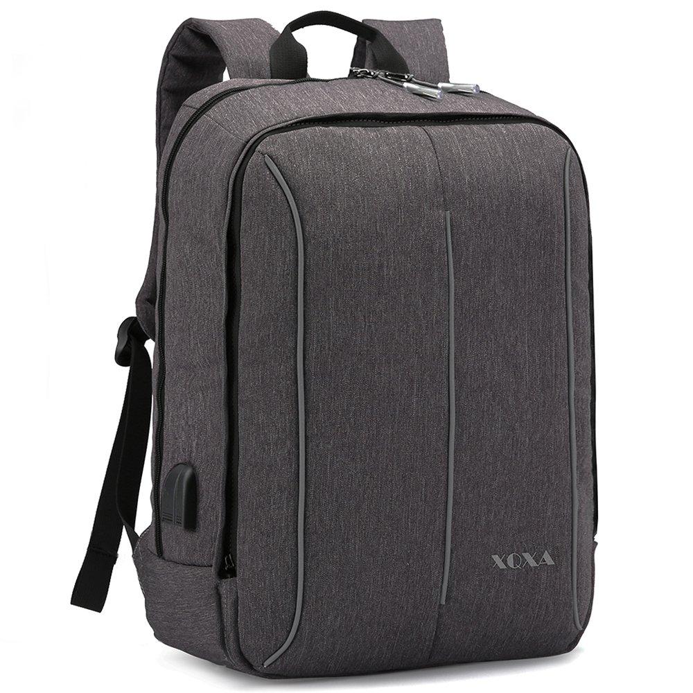 XQXA Mochila Portátil Impermeable Backpack Para Ordenador Hasta Pulgadas Con puerto de