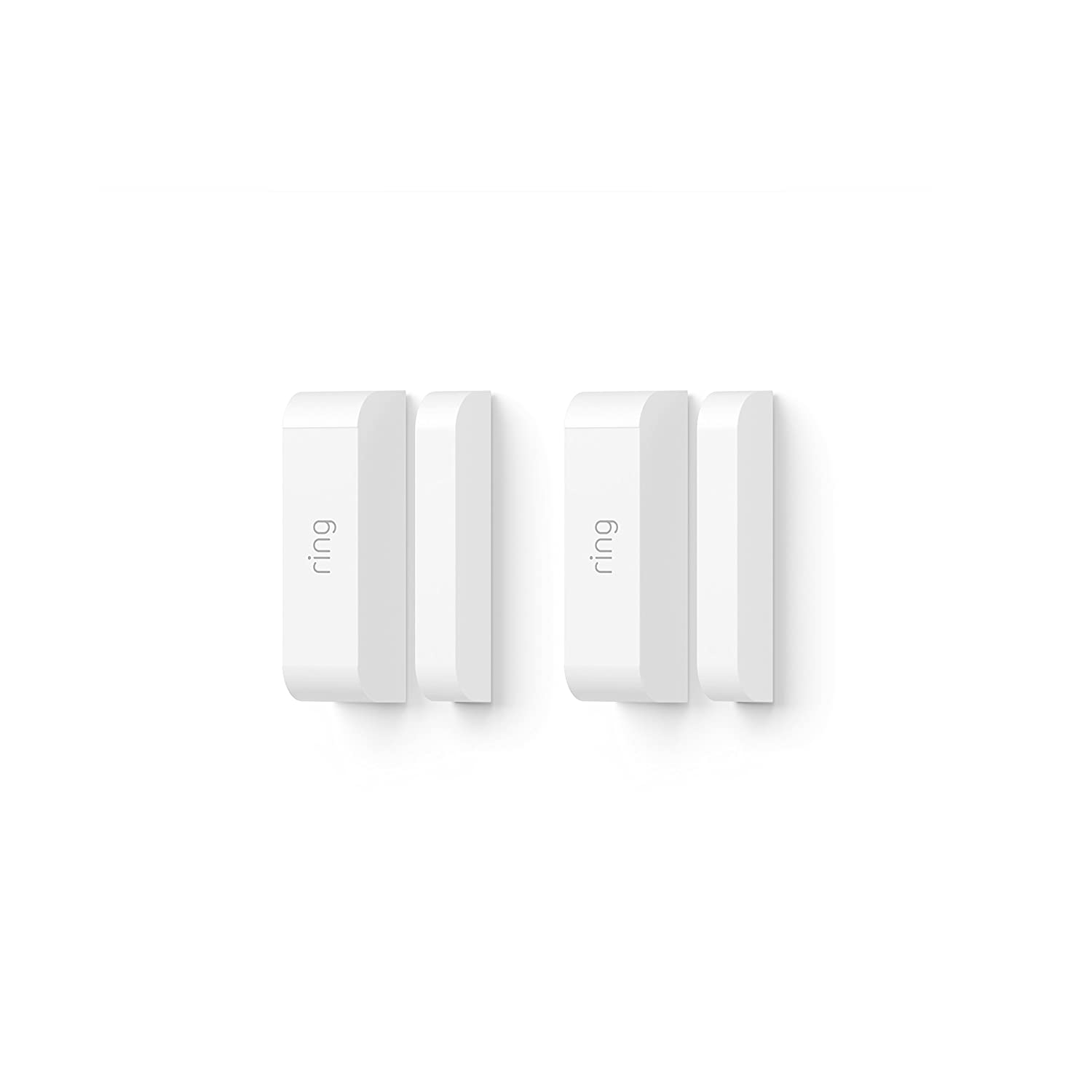 Ring Contact Sensor 2 Pack Alarm White Amazon Devices Security Contacts Wiring Series