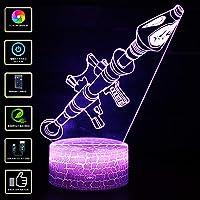 3D Lámpara de Escritorio NHSUNRAY 7 colores LED