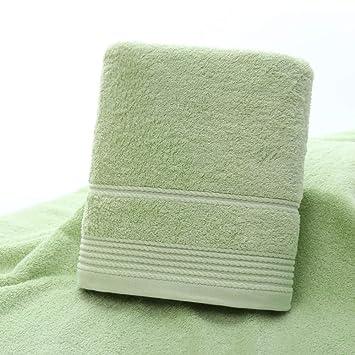 SYXLTSH Toalla de baño algodón Suave Absorbente Adulto Pareja Conjunto baño menaje, Verde
