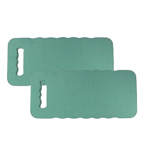 com-four® 2X Kniekissen - Zum Schonen Ihrer Knie - für den Garten, das Haus, in der Freizeit oder für Arbeiten am Auto (2 Stü