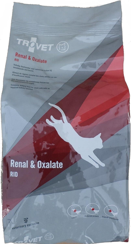 Trovet dieta gatos renal y oxalato cat RID: Amazon.es: Productos para mascotas