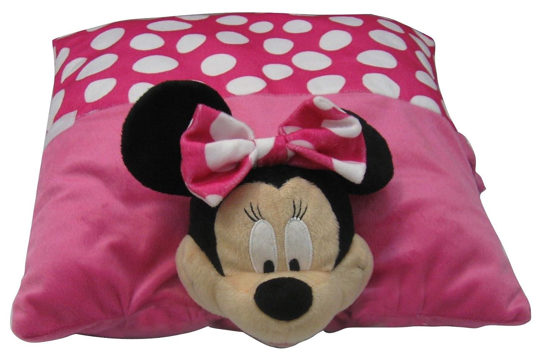 Amazon.com: Disney Minnie 2-en-1 cojín de peluche por Disney ...