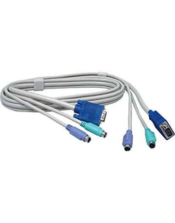 United Belkin Omniview Kvm Cables With Audio 1.8m 6 Ft Soho Series