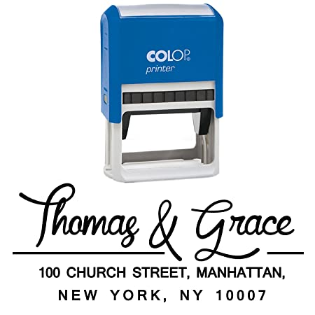 Hochzeits Mitteilung Rucks Stamp Pre Inked Familien Adresse Stempel Save The Date Stamper Design By