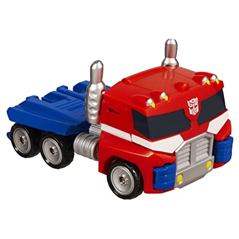 Amazon.com: Transformers Rescue Bots Playskool Heroes Optimus Prime Figure: Toys & Games