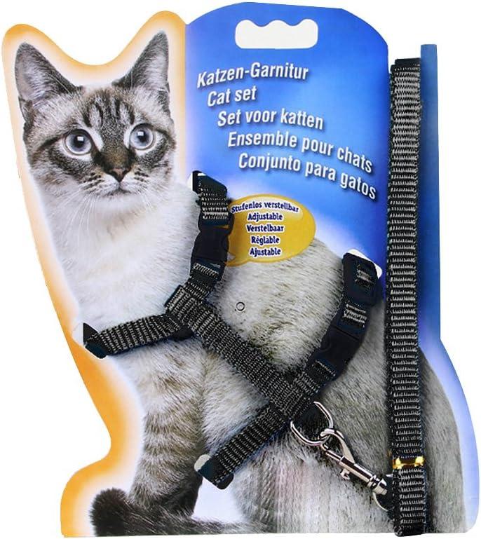 Ajustable Durable mascotas Gatito Gato Conejo Correas Cinturon ...