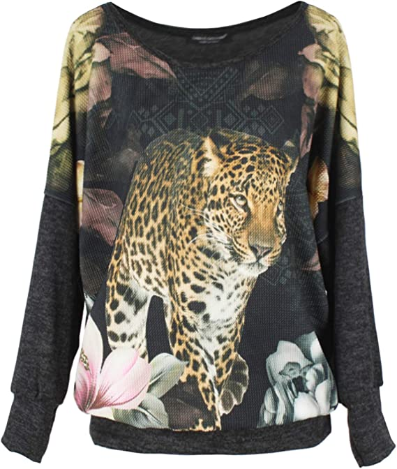 Emma & Giovanni - Oversize Top/Camiseta (Made In Italy) - Mujer