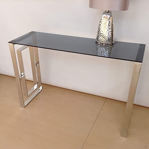 Port de Soller Bude mesa consola de cristal: Amazon.es: Hogar