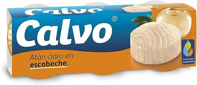 Calvo - Atún Claro Escabeche, 80 g
