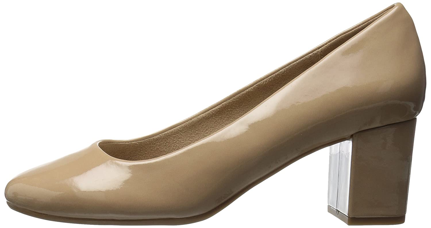 Easy Street Women's Proper N Dress Pump B072M2S5YF 8 N Proper US|Nude Patent 200246