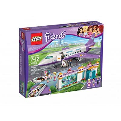 Friends Lego Lego Heart Lake Airport 41109: Toys & Games