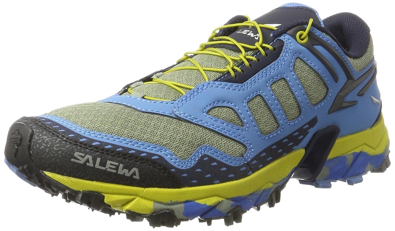 Salewa Ms Ultra Train - Zapatillas de Senderismo Hombre 46.5 EU|Multicolor (Siberia/Night Black 3990)