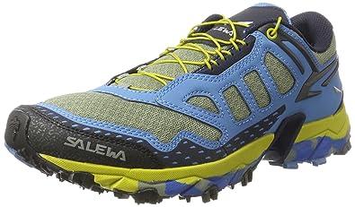f84c5f84ad6 Salewa Men s Ultra Train-M Trail Running Shoe Siberia Blue Night Black 7.5 D