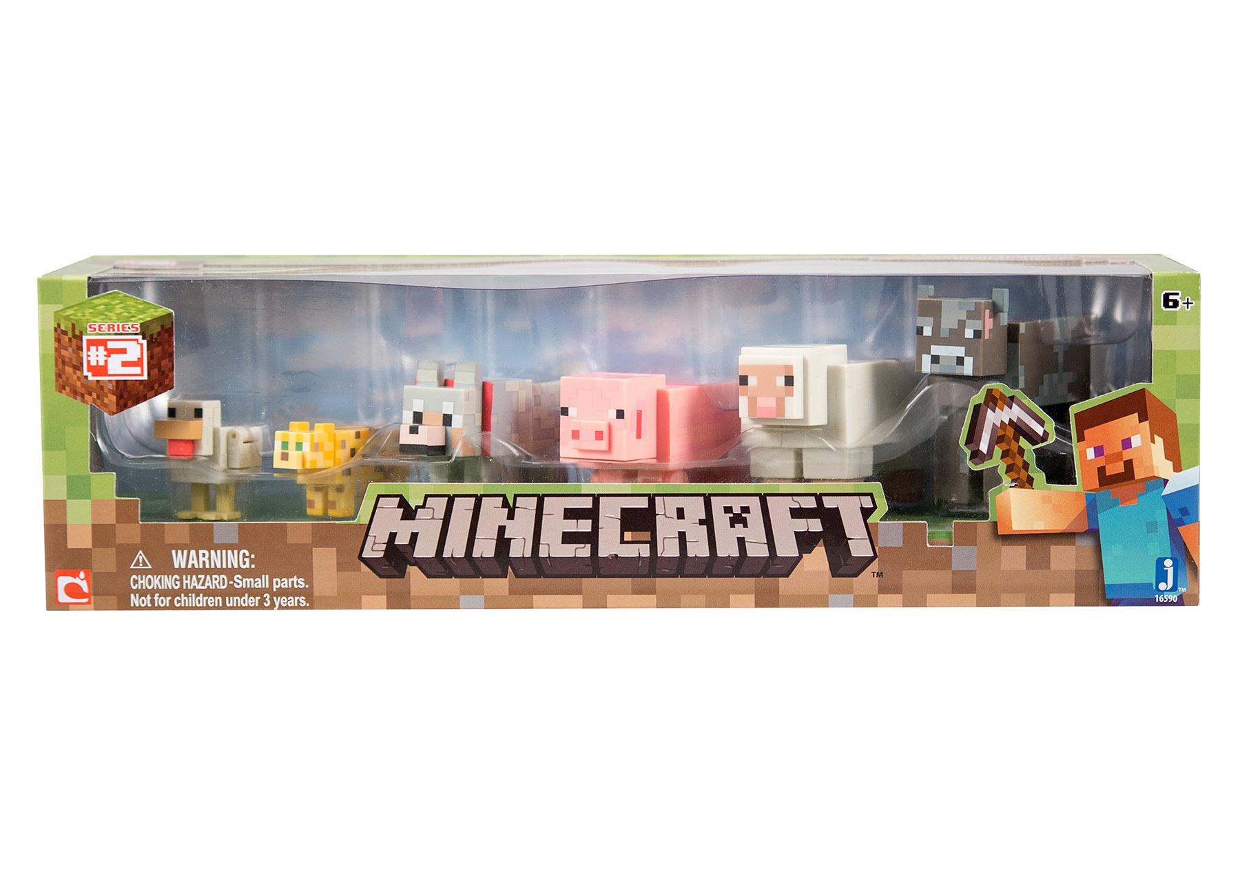 Minecraft Animal 6 Pack