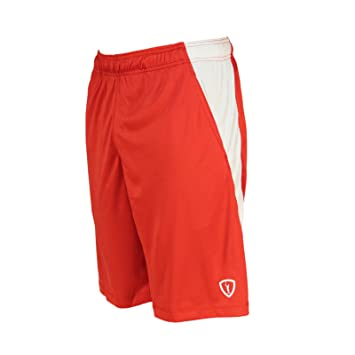 Amazon.com: Adrenaline Lacrosse D.I.ALL Youth Shorts - Red: Sports ...
