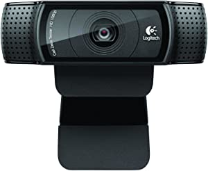 Logitech Webcam C920 HD Pro - 1080p Widescreen Camera for Video Calling & Recording for Desktop or Laptop