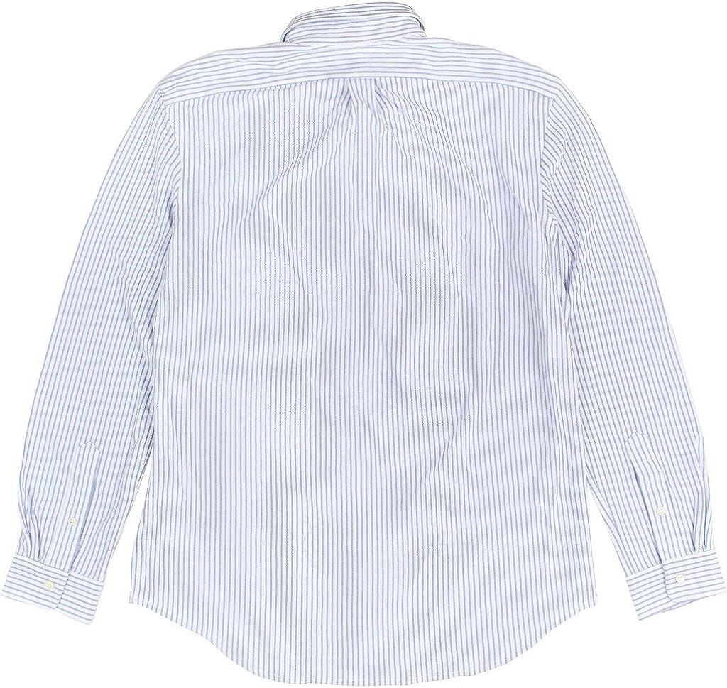 Ralph Lauren Mens Striped Long Sleeve Button Down Shirt