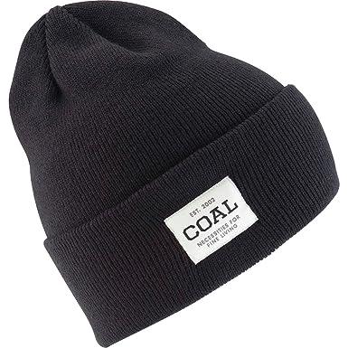 fc1c8d2a711 Amazon.com  Coal Uniform Beanie Solid Black