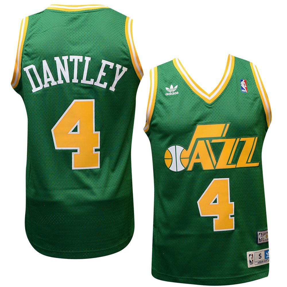 durable modeling Utah Jazz 4 Adrian Dantley NBA Soul Swingman