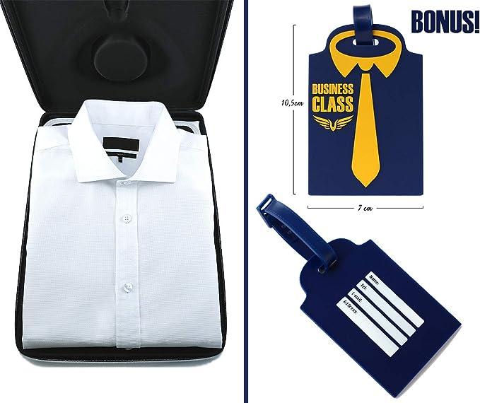 Bolsa Para Camisas De Hombre Funda Camisas Viaje Sin Arrugas Con ...