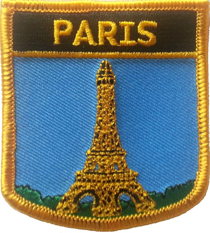 Parche bordado Paris (City of) 7 cm x 6 cm: Amazon.es: Juguetes y ...