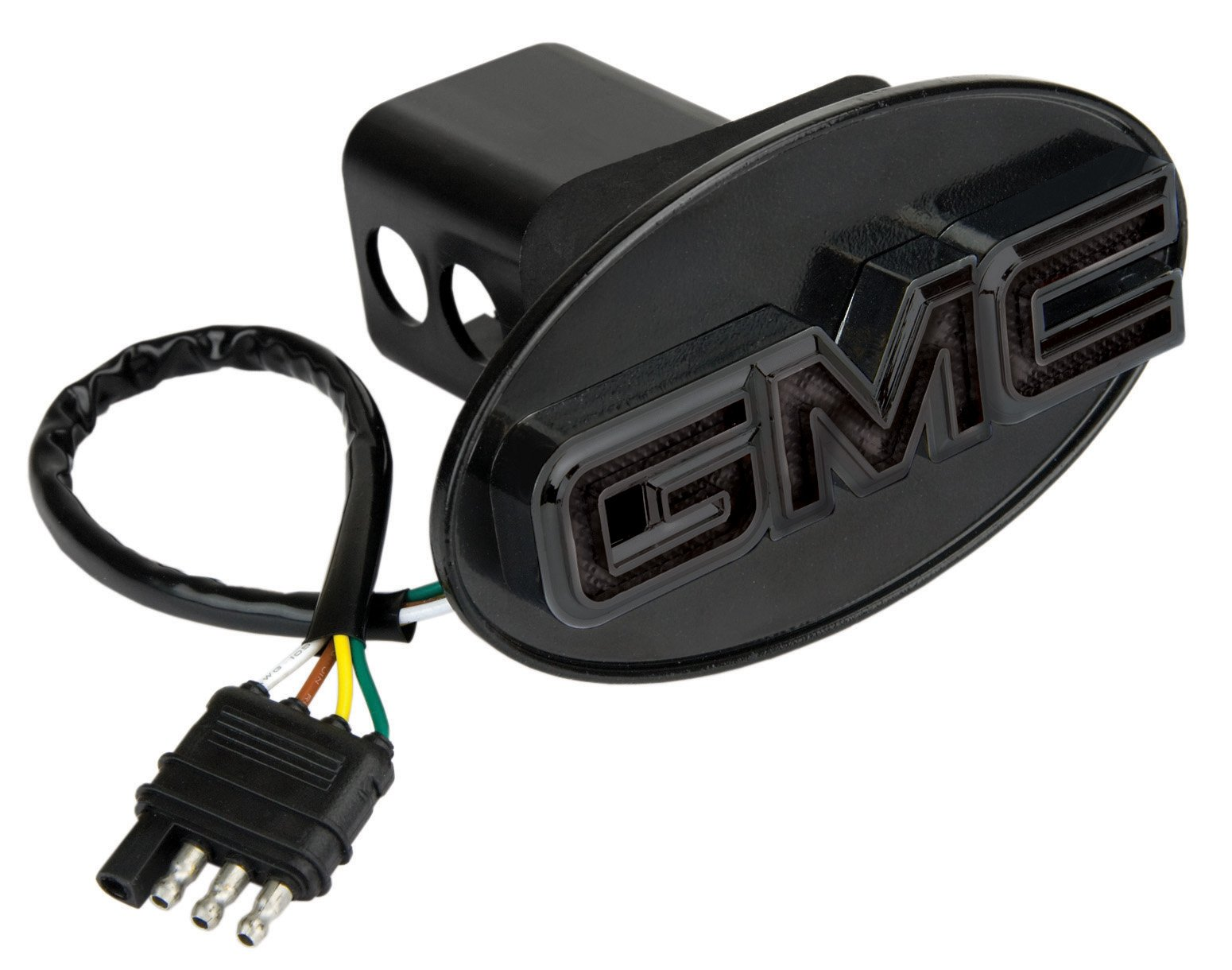 Reese Towpower 86534 Black Finish GMC Lighted Hitch Cover by Reese Towpower