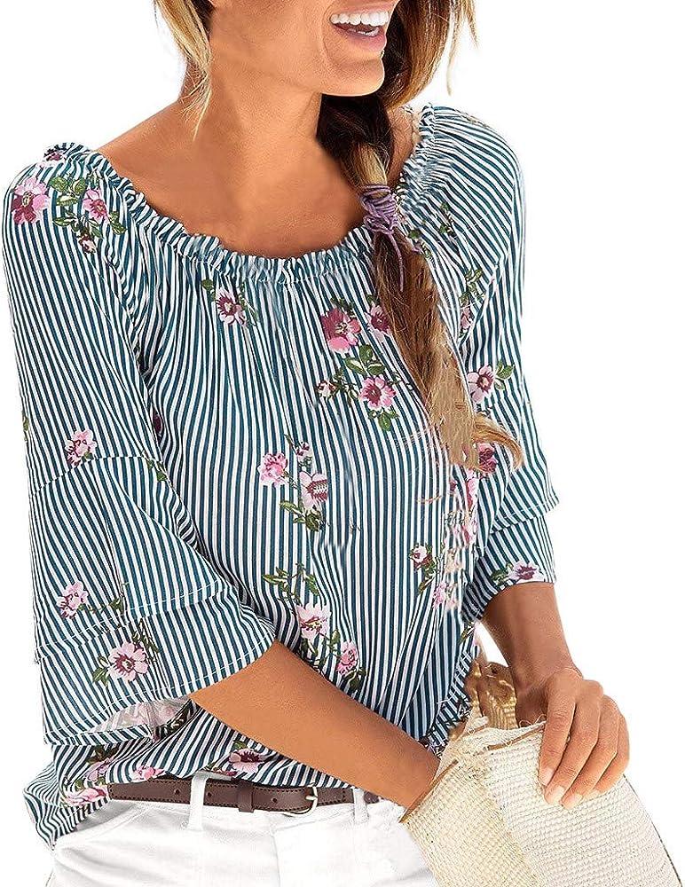 Dorical Mujer Camiseta Blusa Mujer Verano Blusa Mujer Elegante Camisetas Mujer Manga Corta Algodón Camiseta Mujer Mujer Fiesta Camisetas Sin Hombros Mujer Camisetas Mujer Tallas Grandes: Amazon.es: Ropa y accesorios