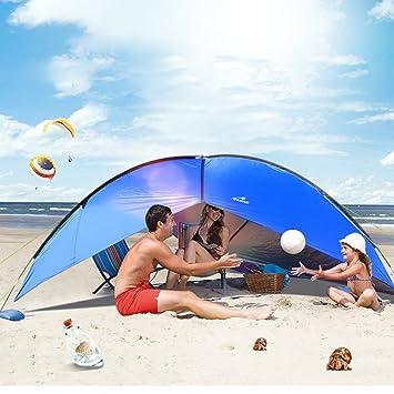 Caso Toldo Refugio, Oxking Festival Fiesta tienda de campaña Camping Carpa pesca paraguas con lados