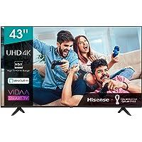 Hisense 43AE7000F UHD TV 2020 - Smart TV Resolución 4K con Alexa integrada, Precision Colour, escalado UHD con IA, Ultra…