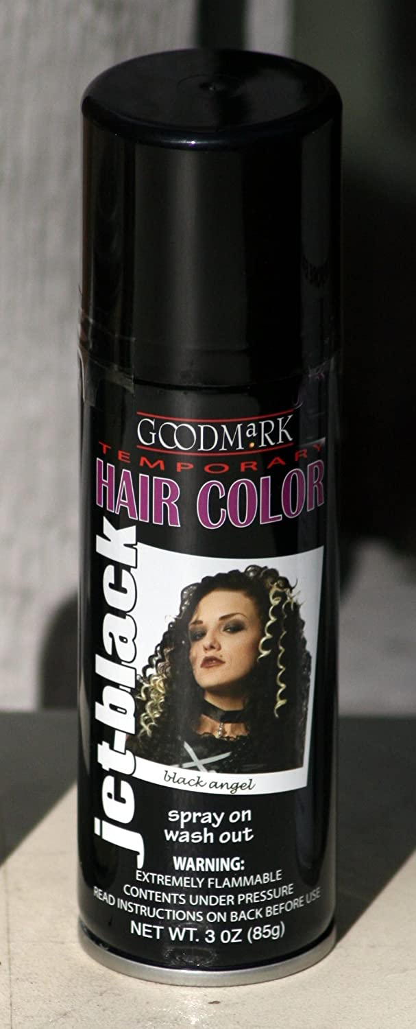 Amazon Spray On Wash Out Black Hair Color Temporary Hairspray