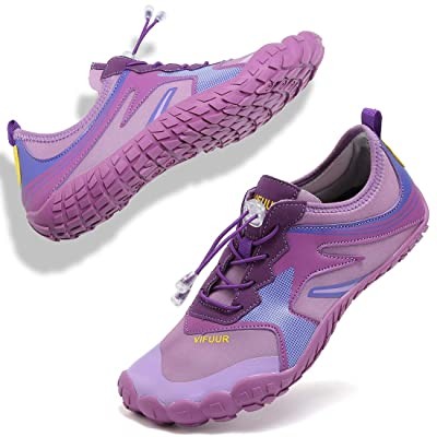 VIFUUR Mens Womens Aqua Shoes Quick Dry Water Shoes Outdoor Indoor Shoes Boating Kayaking Diving Beach Swim | Water Shoes