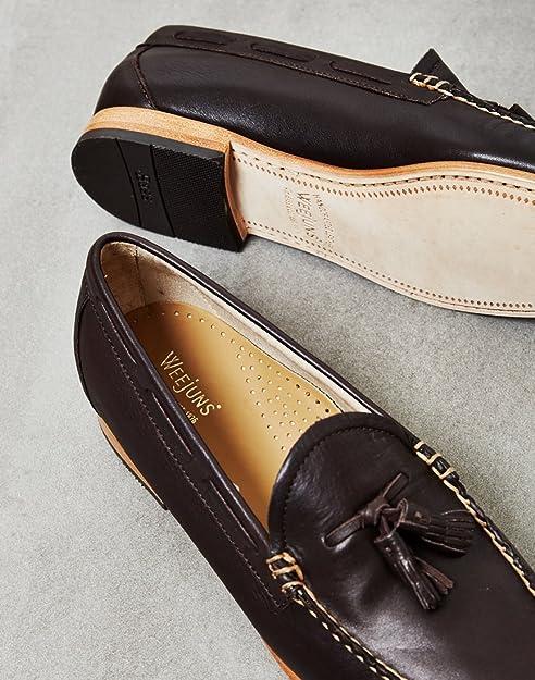 G.H. Bass - Mocasines para Hombre Marrón marrón, Color Marrón, Talla 41.5: Amazon.es: Zapatos y complementos