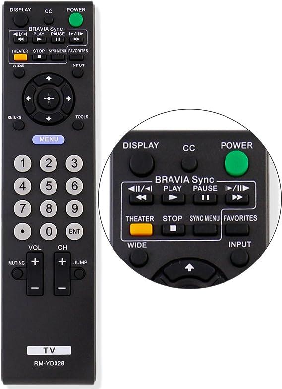 Ersatz Fernbedienung Sony Fernseher RM-1028RM-EA002RM-EA006