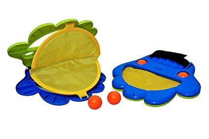 Aarav Enterprise Plastic Squap Ball Game for Kids Multicolour