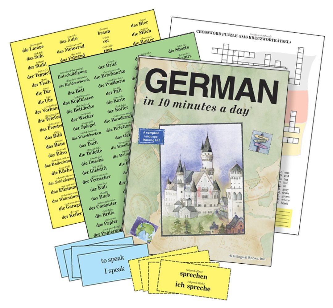 GERMAN in 10 minutes a day® AUDIO CD by Brand: Bilingual Books, Inc. (Image #4)
