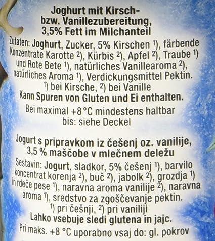 Danone Disney Princess Joghurt Kirsche/Vanille, 500 g (4 x 125 g ...