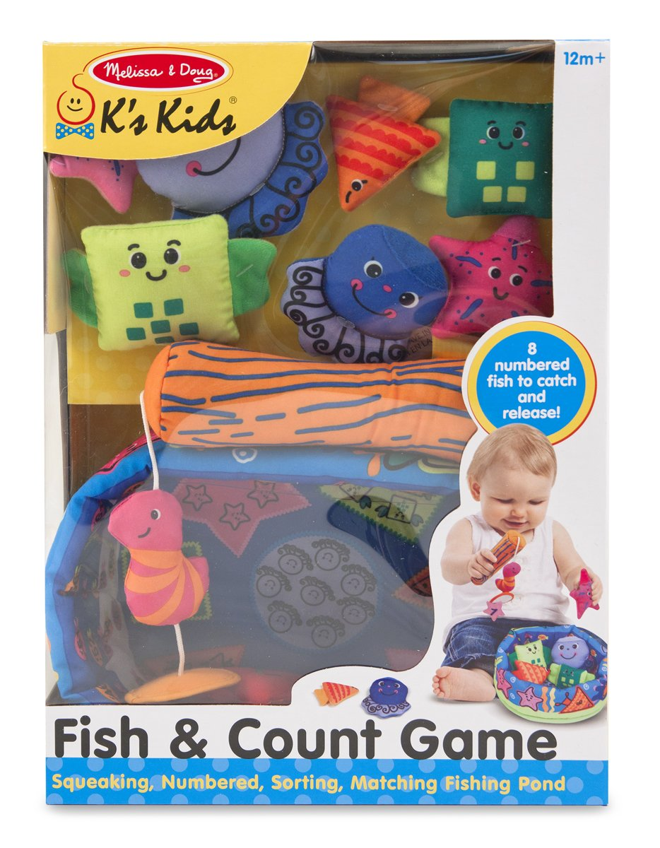 Amazon.com: Melissa & Doug K\'s Kids Fish and Count Learning Game ...