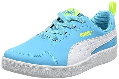 Puma Courtflex PS, Sneakers Basses Mixte Enfant: