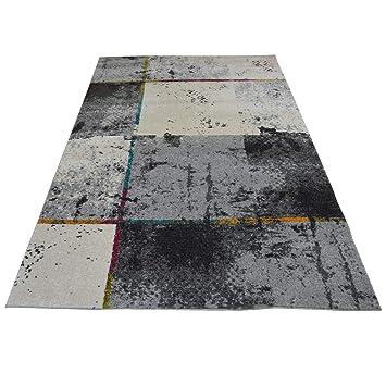 WEBTAPPETI Moderner Teppich für Wohnzimmer in 4 Größen ...